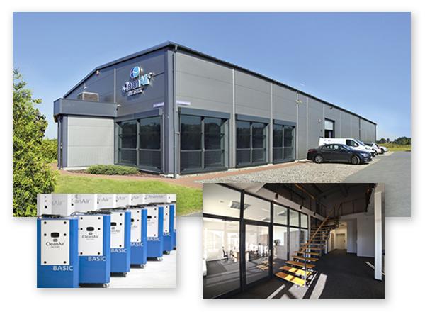filtrowentylacja odpylanie CleanAir siedziba