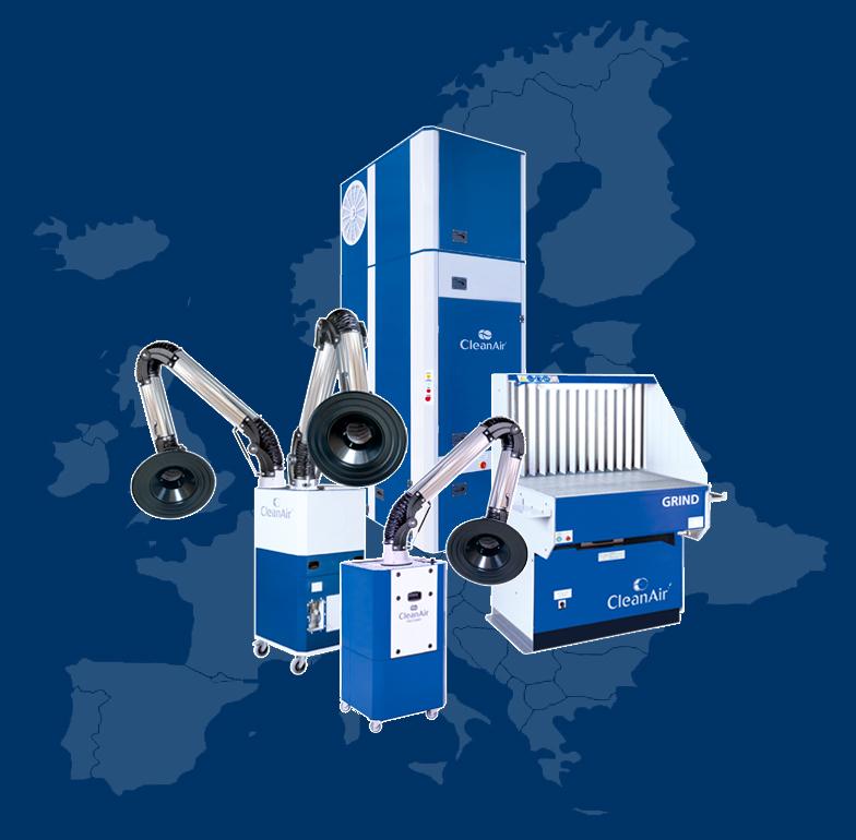 filtrowentylacja odpylanie Europa